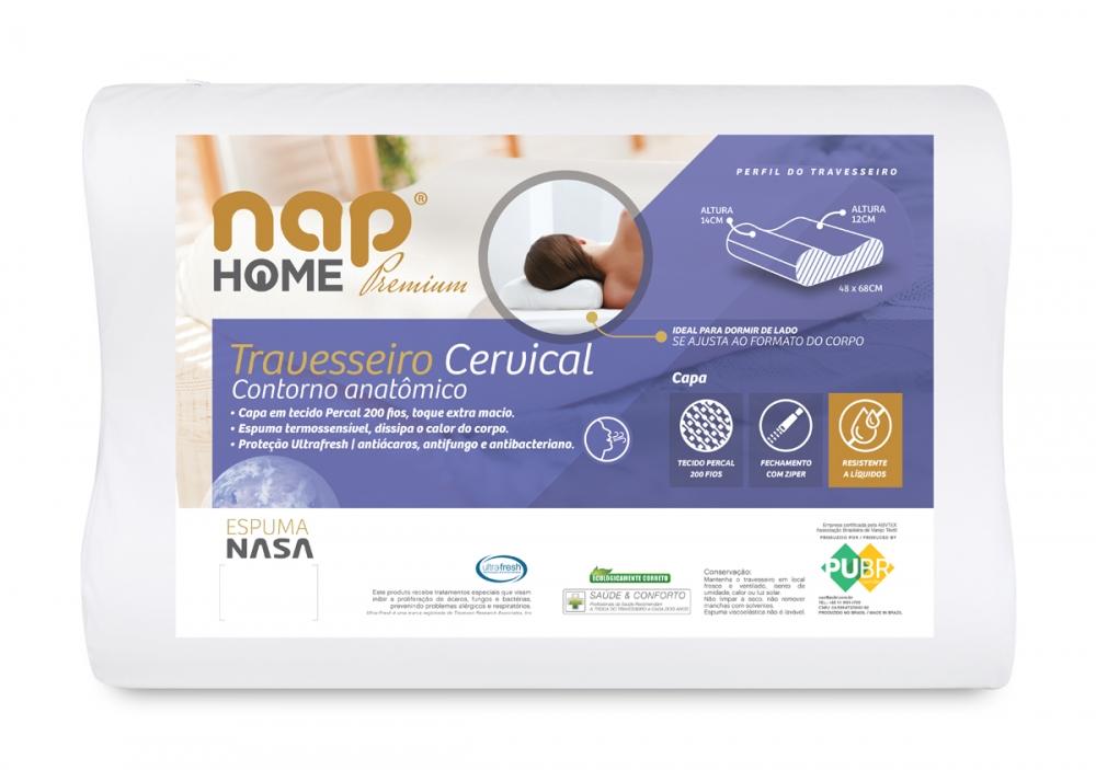 Travesseiro nap Home Premium Cervical